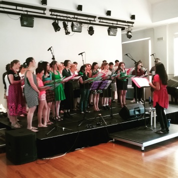 Mixtape Chorus at Ainsley Arts Centre, Canberra 26 Nov 2016